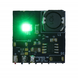 LED single green module